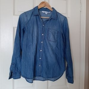 3/$30-Old Navy Denim Shirt